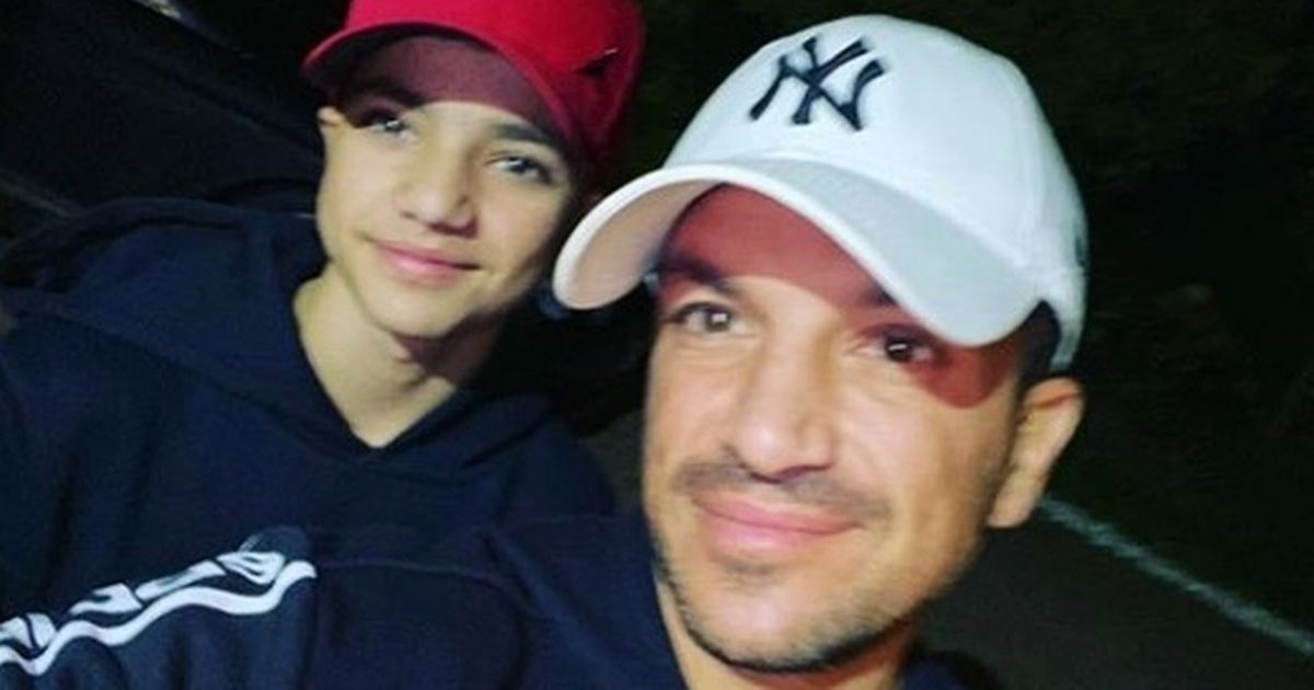 Peter Andre says how he gets Junior to believe in Father Christmas at age 15