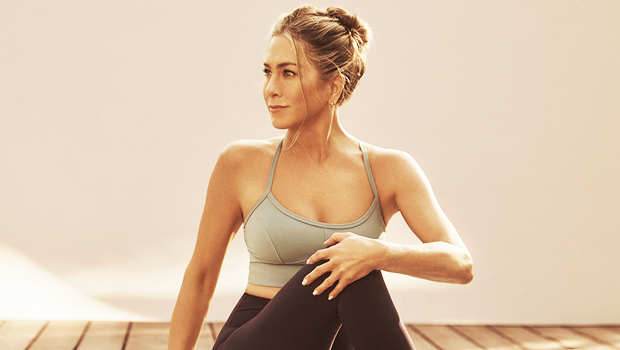 Jennifer Aniston, 51, Breaks A Sweat While Running & Doing Yoga In Crop Top For Vital Proteins Ad — Watch