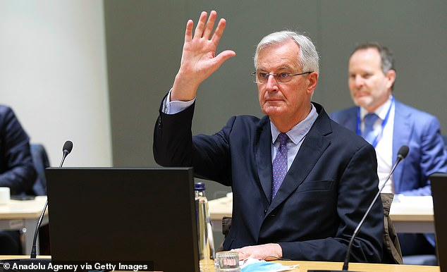 Michel Barnier, the EU's chief negotiator, is said to have told ambassadors the UK is now willing to move on the crunch issue of the 'level playing field' on rules