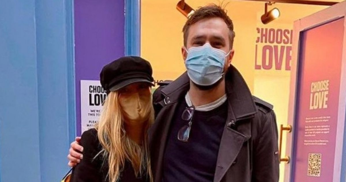 Laura Whitmore and Iain Stirling remain coy amid 'secret wedding' claims