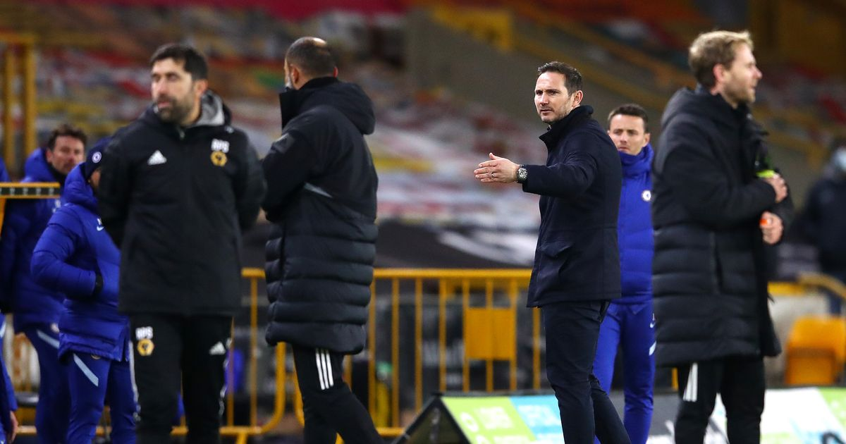 Frank Lampard left with egg on his face after latest Chelsea touchline antics