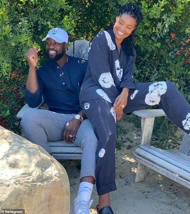 Hard to handle:Union said her husband Dwayne Wade was aware of her PTSD, but quarantine made her feel 'exposed' because he could hear her speaking to her therapist via Zoom