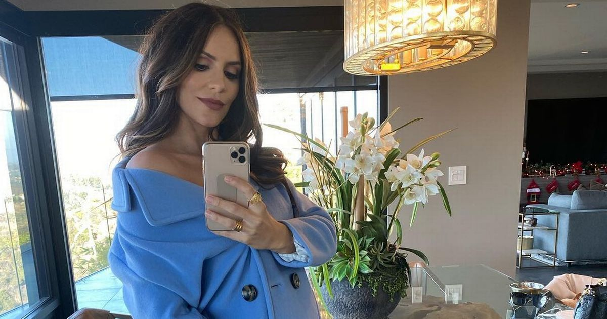 Katharine McPhee finally confirms that she's expecting a baby with David Foster