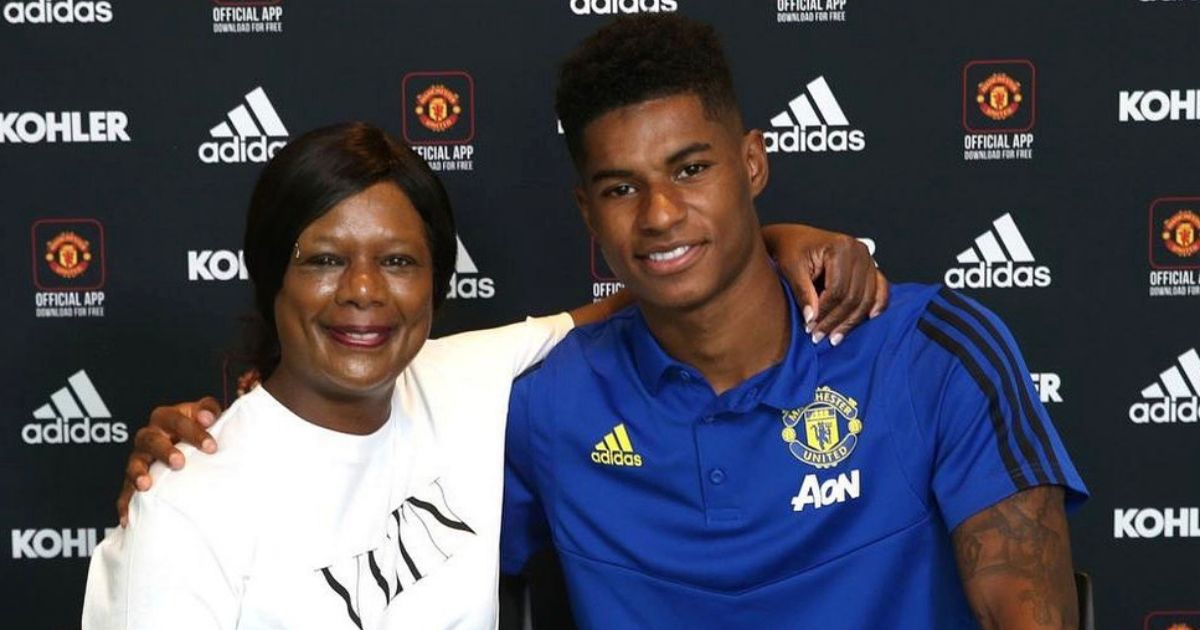 Marcus Rashford's mum skipped meals to feed her kids as they grew up in poverty