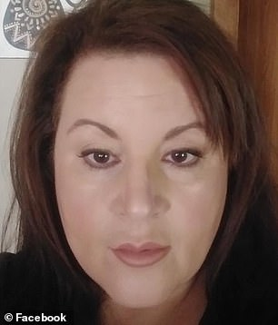 Cynthia Recanati, 47, said she is suffering from 'survivor's guilt' after her identical twin sister, Michelle Recanati (above), died of COVID-19