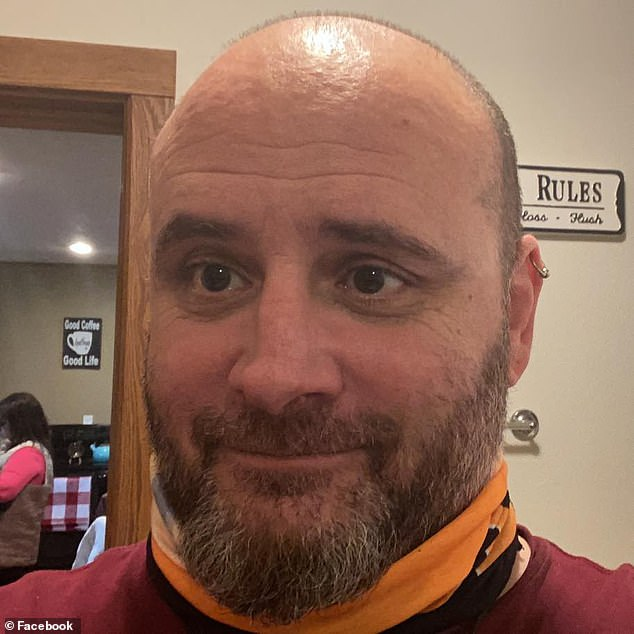 Cynthia's brother, Phil Recanati (pictured), 50, started showing symptoms after she tested positive on November 11. Phil never did get tested for COVID-19 because he did not have health insurance, according to Cynthia