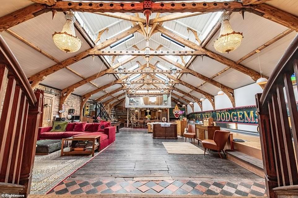 The perfect pad to party at home? This colourful property in East Sussex has an interesting carnival theme