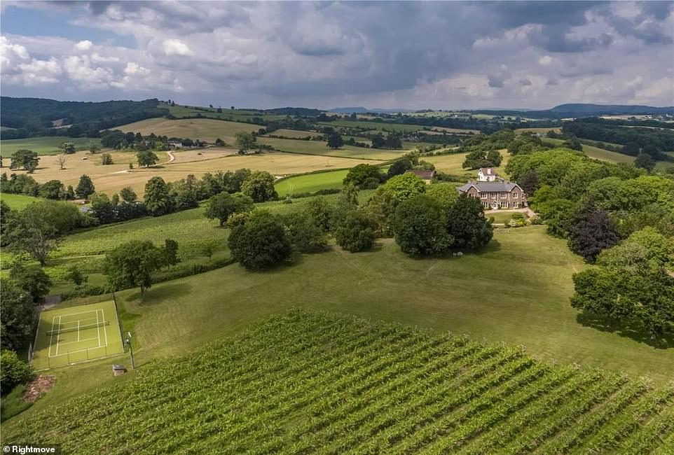 Ancre Hill Estates, near Monmouth, includes 29.5 acres of vines and supplies wine to some of the world's top restaurants