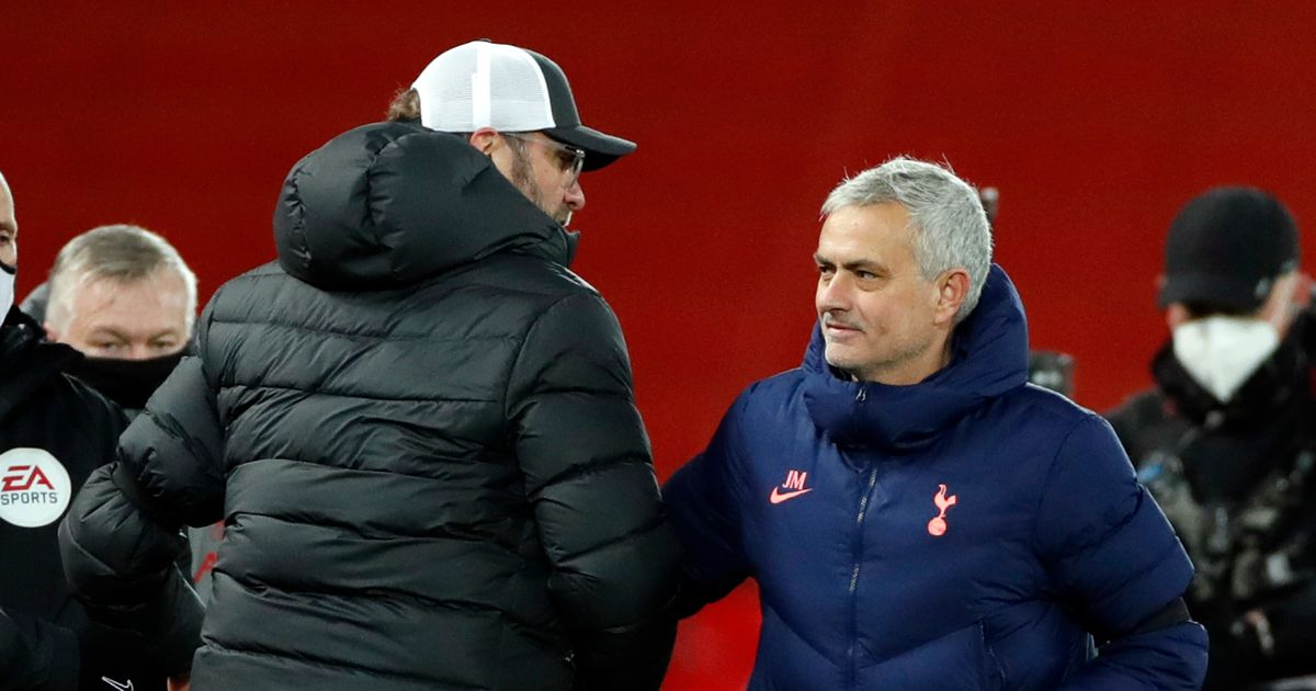 Jose Mourinho's ultimate compliment to Liverpool star detailed by Jurgen Klopp