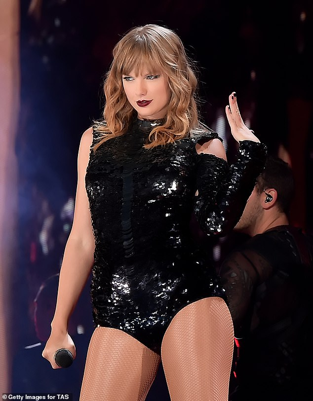 Music sensation: Critics have heaped praise on Swift and her new album Evermore