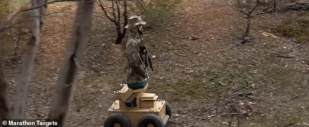 Marathon Targets, a firm based in Australia, designed the robots specifically as targets for police officers and military forces. The idea is to help prepare unseasoned soldiers and officers before they head out into real scenarios