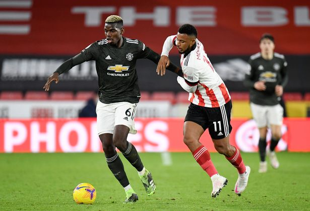 Paul Pogba was back to his best against Sheffield Utd