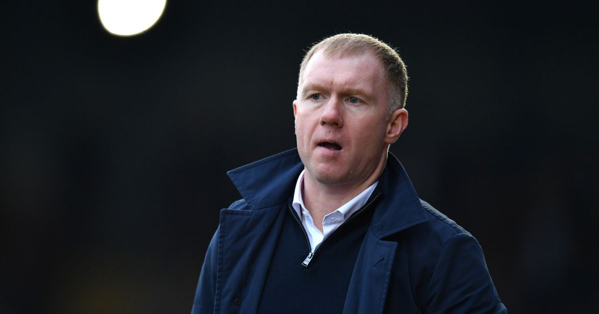 Paul Scholes names only change he would make to ideal Man Utd formation