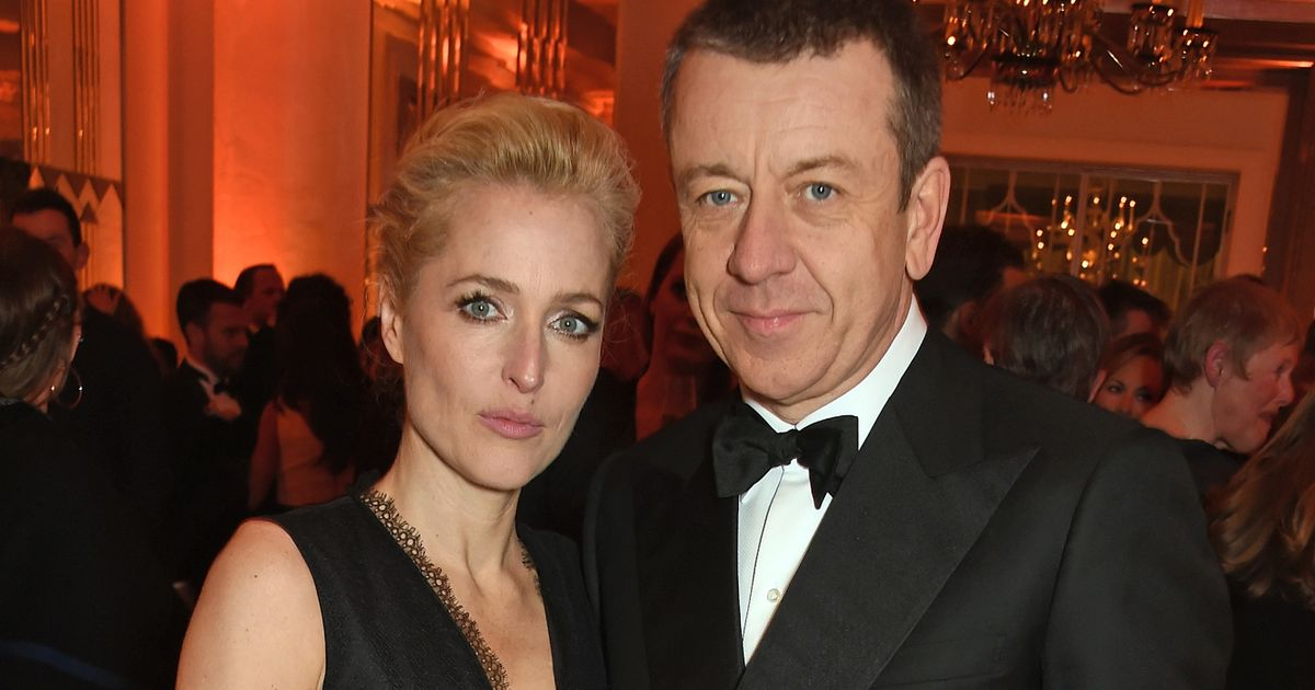 Gillian Anderson 'splits' from The Crown writer Peter Morgan after four years