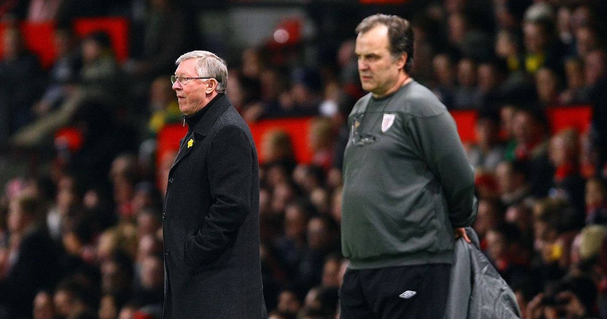 Marcelo Bielsa recalls Sir Alex Ferguson's reaction after outfoxing Man Utd