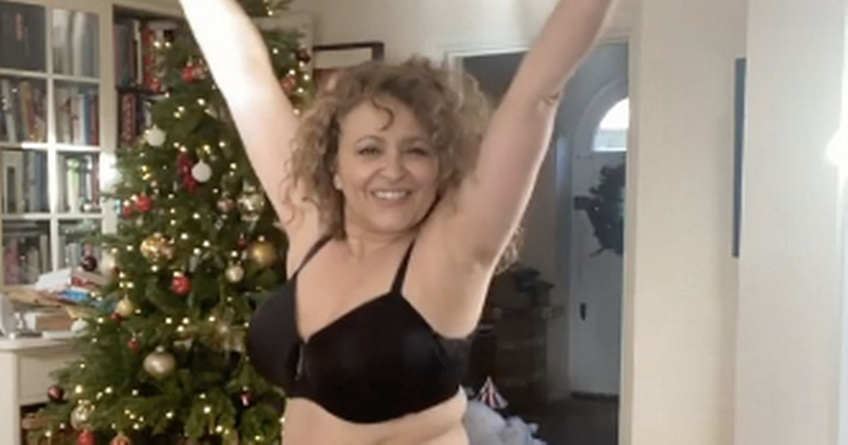Loose Women's Nadia Sawalha wows fans as she confidently dances in her underwear