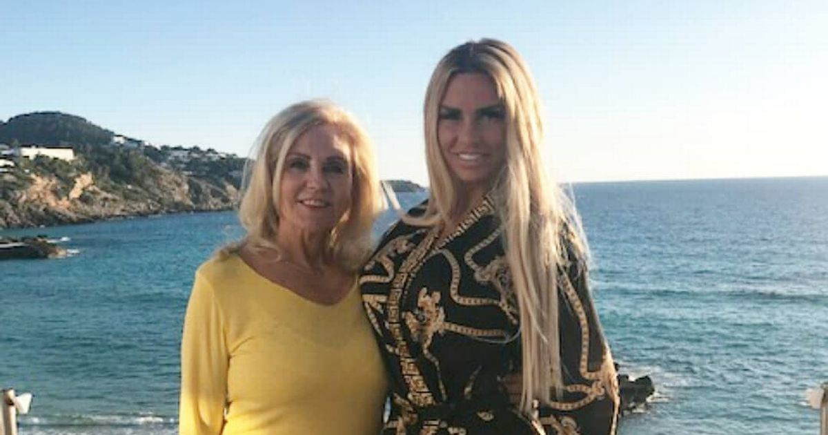 Katie Price fears this Christmas will be last for her terminally ill mum