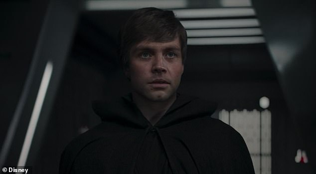 And sure enough: The mysterious Jedi turns out to be none other than (a digitally de-aged) Luke Skywalker, who appears to take Grogu off for his needed Jedi training
