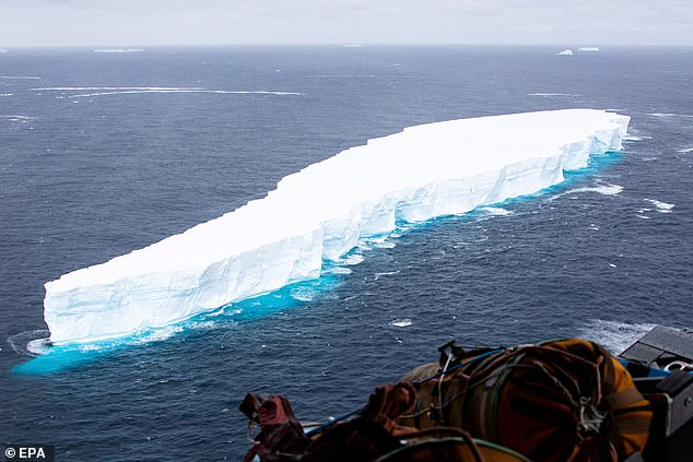 Iceberg A68a broke from the Antarctic peninsula's Larsen C ice shelf in July 2017 and headed slowly for the open ocean