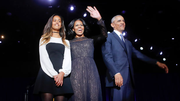 Barack Obama Says Daughter Malia's BF Quarantined With Them & Jokes He 'Didn't Want To Like Him'