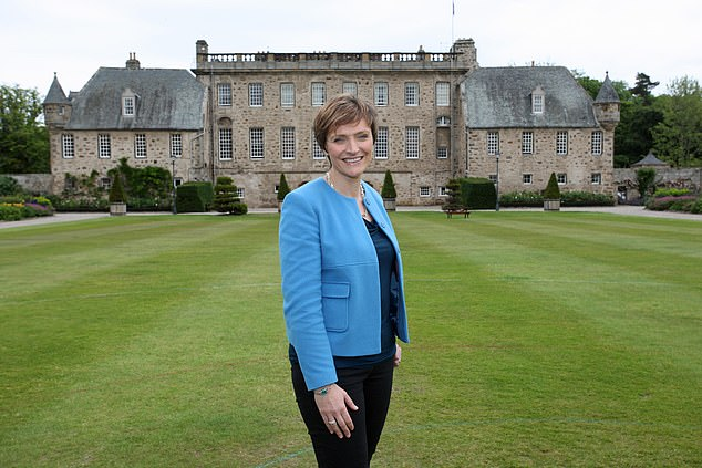 Gordonstoun Principal Lisa Kerr, pictured, said the popular Netflix show had given a 'misleading impression' of the Royal family 's time there