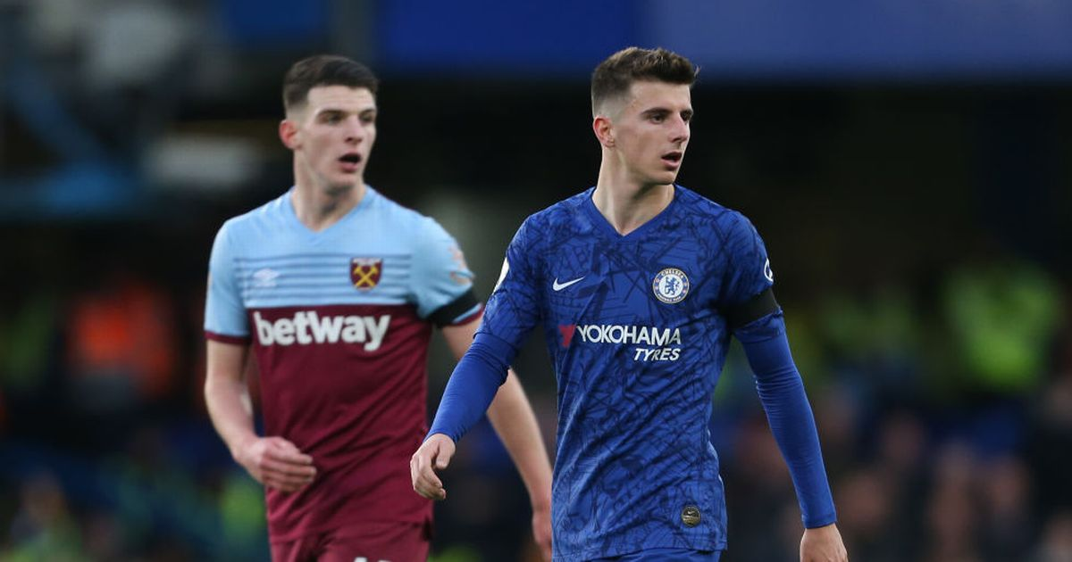 Frank Lampard backing Mason Mount and Declan Rice to be best of enemies