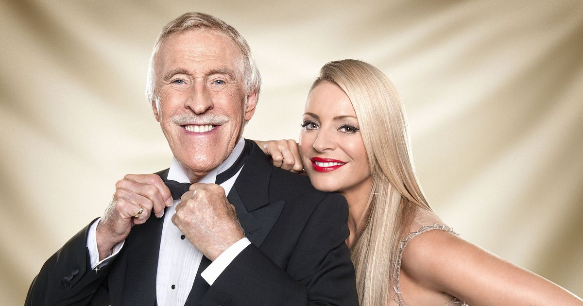 Tess Daly recalls being awestruck by Sir Bruce Forsyth's 'mundane' activities