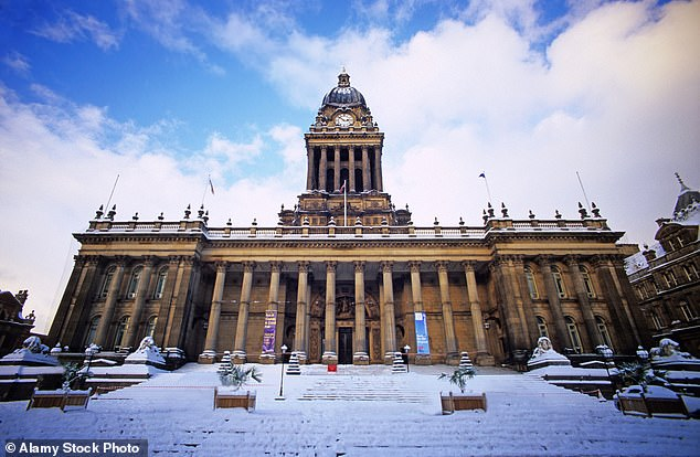 Worst: Leeds is said to have the least hospitable winter weather, due to a combination of cold winds, high rainfall and freezing temperatures. It scored minus 460