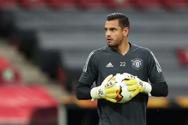 Sergio Romero pushed for a move in the summer transfer window but was not given it by Solskjaer