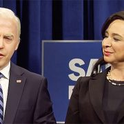 Alex Moffat Debuts As Joe Biden On 'SNL' While 'Mike Pence' Mistakenly Drops Trousers To Get COVID Vaccine