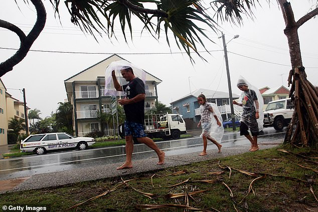 Rain is forecast for Christmas day all along the NSW coastal region. File photo