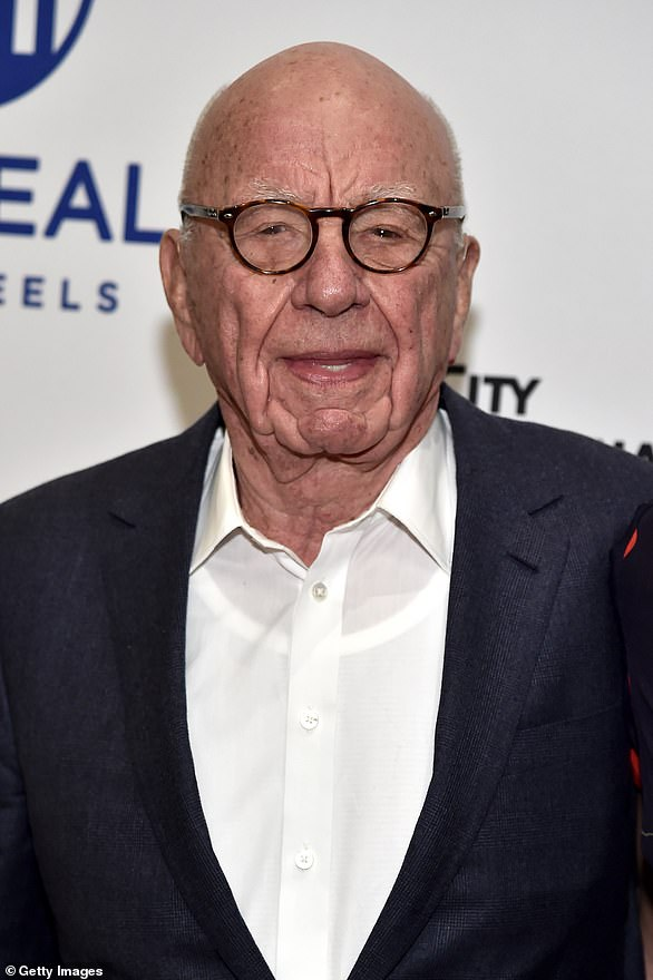 Rupert Murdoch has received the Covid vaccine at his local GP surgery – ignoring fears stoked up over the jab on his US TV channel Fox News