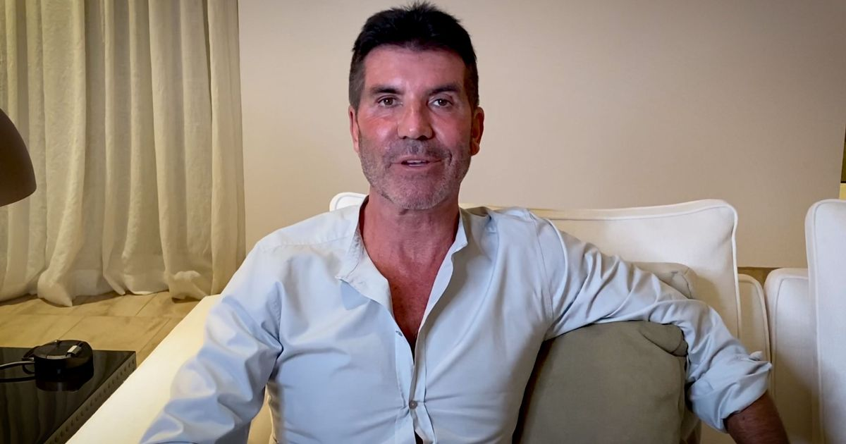 Simon Cowell walking five miles a day months after breaking his back