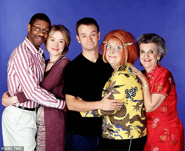 Comedy: She also drew laughs as retired prostitute Beryl in BBC TV series Gimme, Gimme, Gimme, which ran from 1999 to 2001 and starred Kathy Burke and James Dreyfus