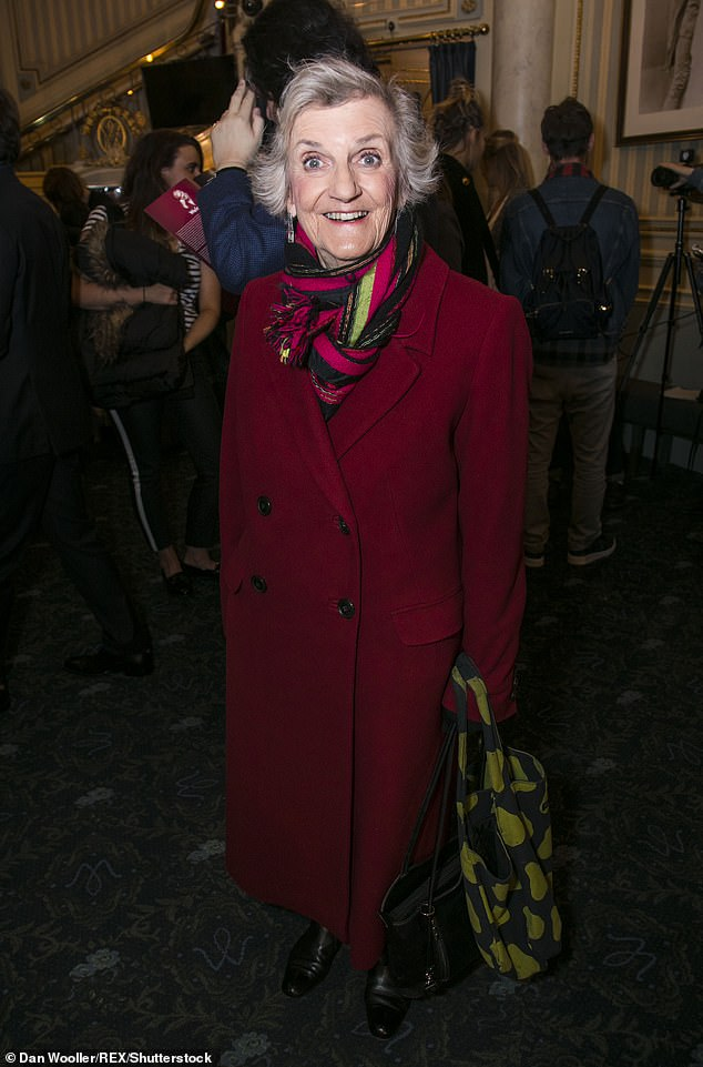 Immense spirit: The star's daughters said in a statement that Rosalind would be remembered for her 'immense spirit and sense of fun, and her utter individuality'. Pictured in 2017