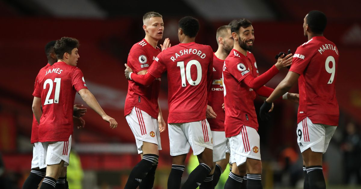 Man Utd players dressing room message on Old Trafford before Leeds clash