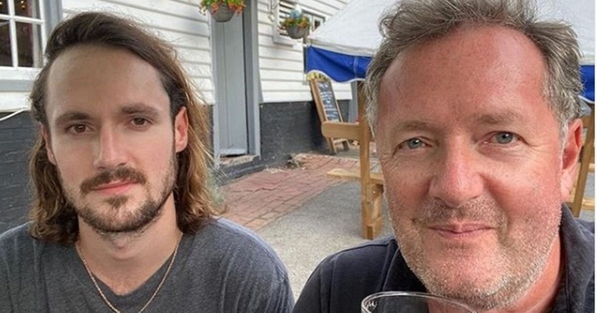 Piers Morgan's son slams 'mask obsession' after his dad is caught without one