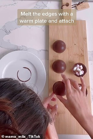 Thousands who saw the simple recipe said they love it and can't wait to try it and it looks 'incredible' (pictured in action)