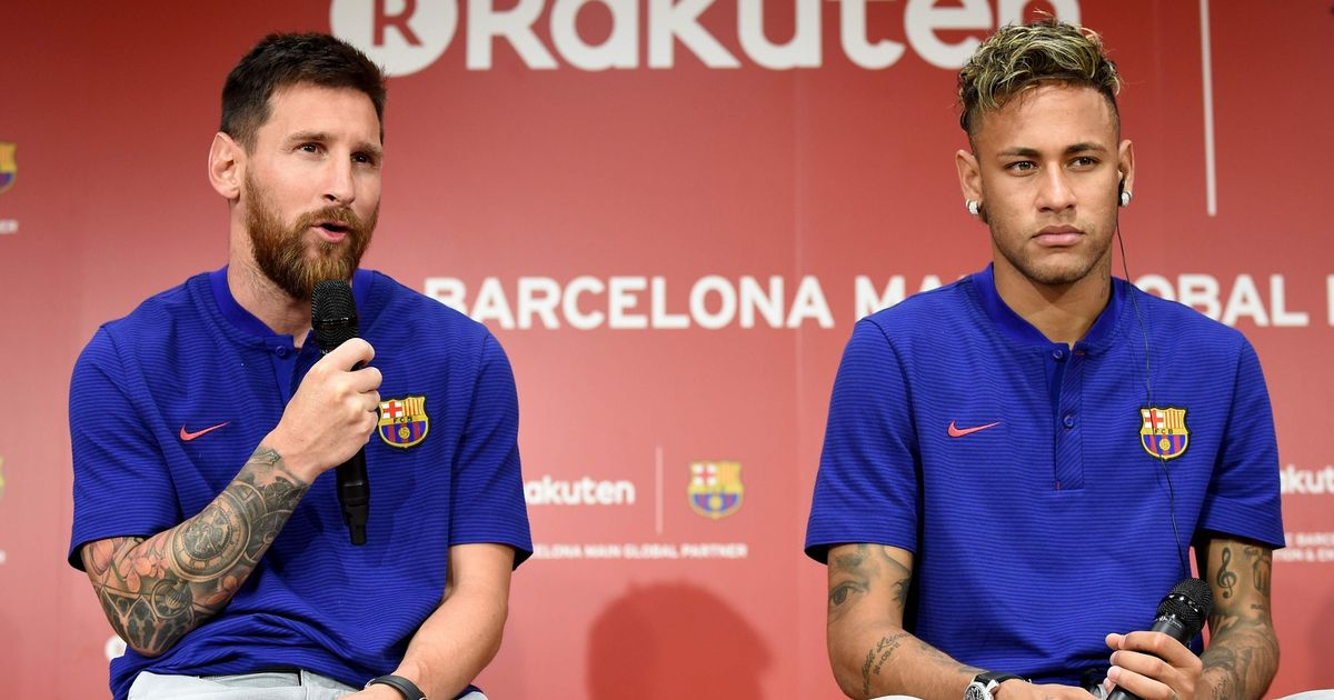 """Neymar told he must """"ask for Barcelona's forgiveness"""" to achieve Messi reunion"""