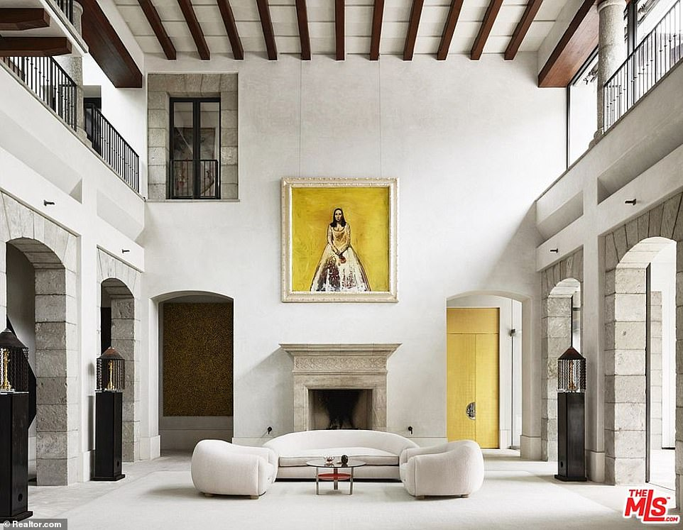 According to a listing by the Altman Brothers, the 30,000 sq ft estate at Number 133 was modeled after the Reina Sofia museum in Madrid