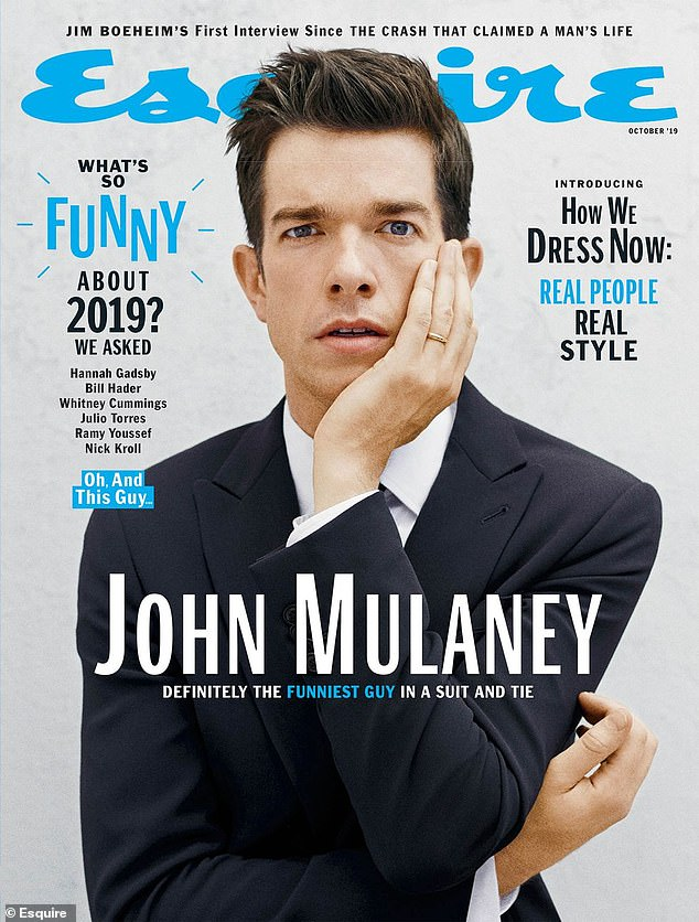 'Maybe it was some young male thing': Last year, the 38-year-old comedian told Esquire that he 'loved cocaine' and 'drank for attention' as early as age 13