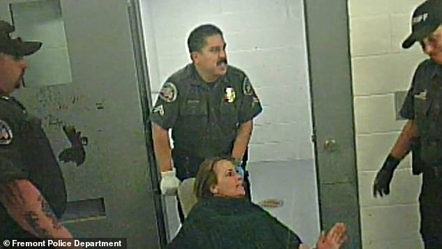 O'Neal was also tied to a restraint chair for several hours and tased by officers at least twice