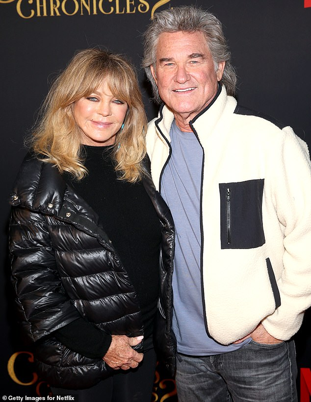 Relationship goals: The 51-year-old discussed it Monday on Andy Cohen's SiriusXM show Radio Andy, as he suggested a comparison to Kurt Russell, 69, and Goldie Hawn, 75, who have been happily partnered since 1983, but have never gotten married (pictured in November, 2020)