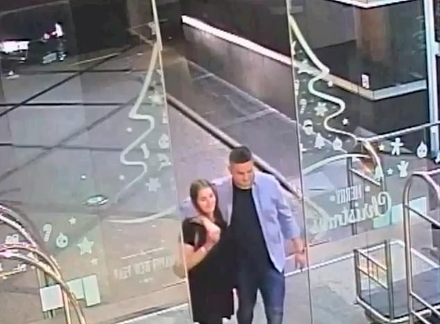 Grace Millane and Jesse Kempson were seen together in CCTV footage after meeting online
