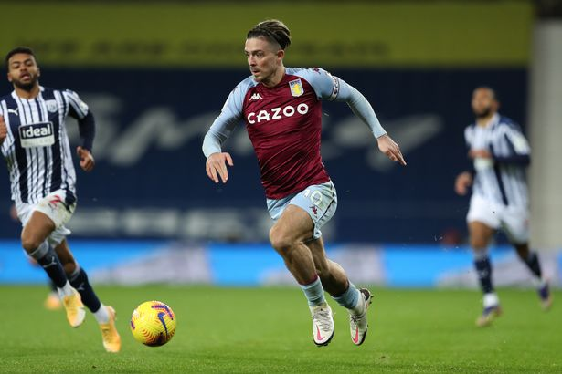 Grealish has been in standout form for Villa this season