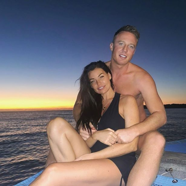 Jess had been dreaming of a sunny New Year break with fiance Wlliam Lee-Kemp