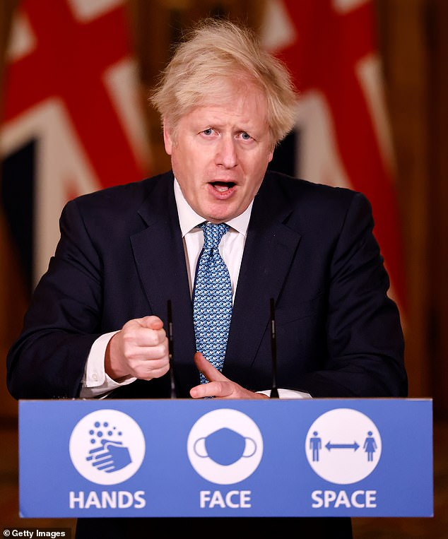 Defending the appointment, Mr Johnson said 'the most serious accusations levelled at the time were found to be untrue and libellous'
