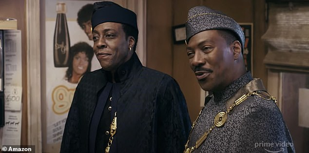 They're back!The film circles around the former Prince and to be King Akeem discovering he has a son he didn't know existed living in America, as seen in the just released trailer on Tuesday; Eddie and Arsenio Hall