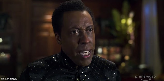 Cheeky:His best friend and aide, Semmi, played by Arsenio Hall, replies: 'Oh hell no your majesty!'