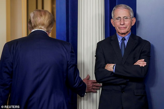 Fauci has had a difficult relationship with Donald Trump, who called the doctor an 'idiot'